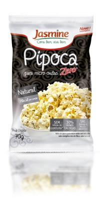 Pipoca Zero Natural