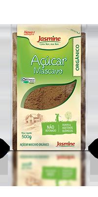 Açúcar Mascavo Orgânico Jasmine