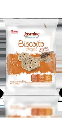 Biscoito Integral Salgado Gergelim & Linhaça