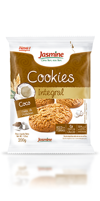 Cookies Integrais Coco