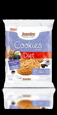 Cookies Integrais Diet Ameixa Preta e Coco