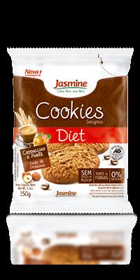 Cookies Integrais Diet Cappuccino e Avelã