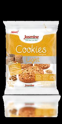 Cookies Integrais Light Aveia e Amêndoas com Sementes Nobres