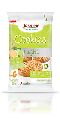 Cookies Integrais Light Frutas Cítricas