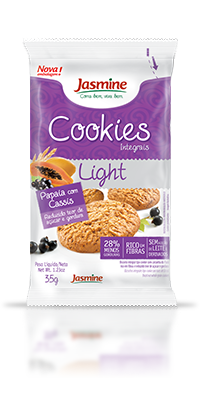 Cookies Integrais Light Papaia com Cassis