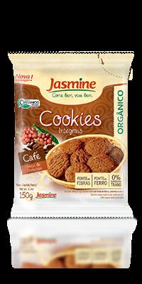 Cookies Integrais Orgânicos Café
