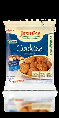 Cookies Integrais Orgânicos Castanha do Pará