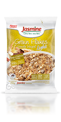 Grain Flakes Light Soja e Linhaça
