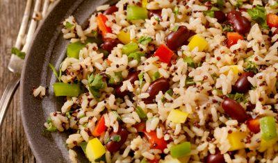 Arroz com Quinoa