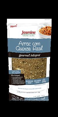 Arroz cateto com quinoa real em grãos