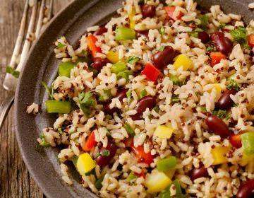Receita de Arroz com Quinoa