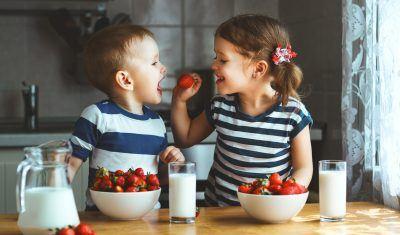 alimentação saudável infantil