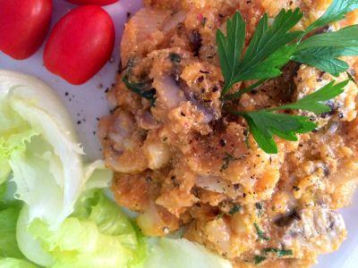 Receita de Risoto de Alho-poró e Quinoa em Flocos