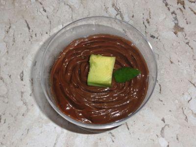 Receita de Mousse de Abacate com Cacau