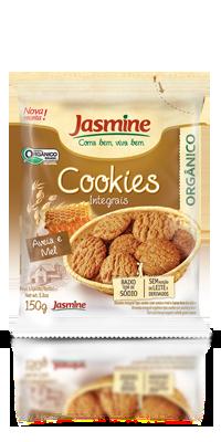 Cookies Integrais Orgânicos Aveia e Mel