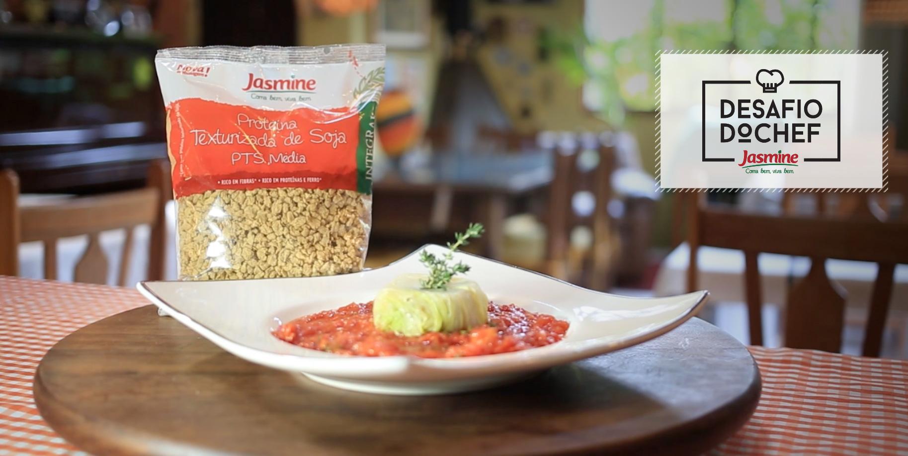 Desafio do Chef Jasmine com Orlando Baumel