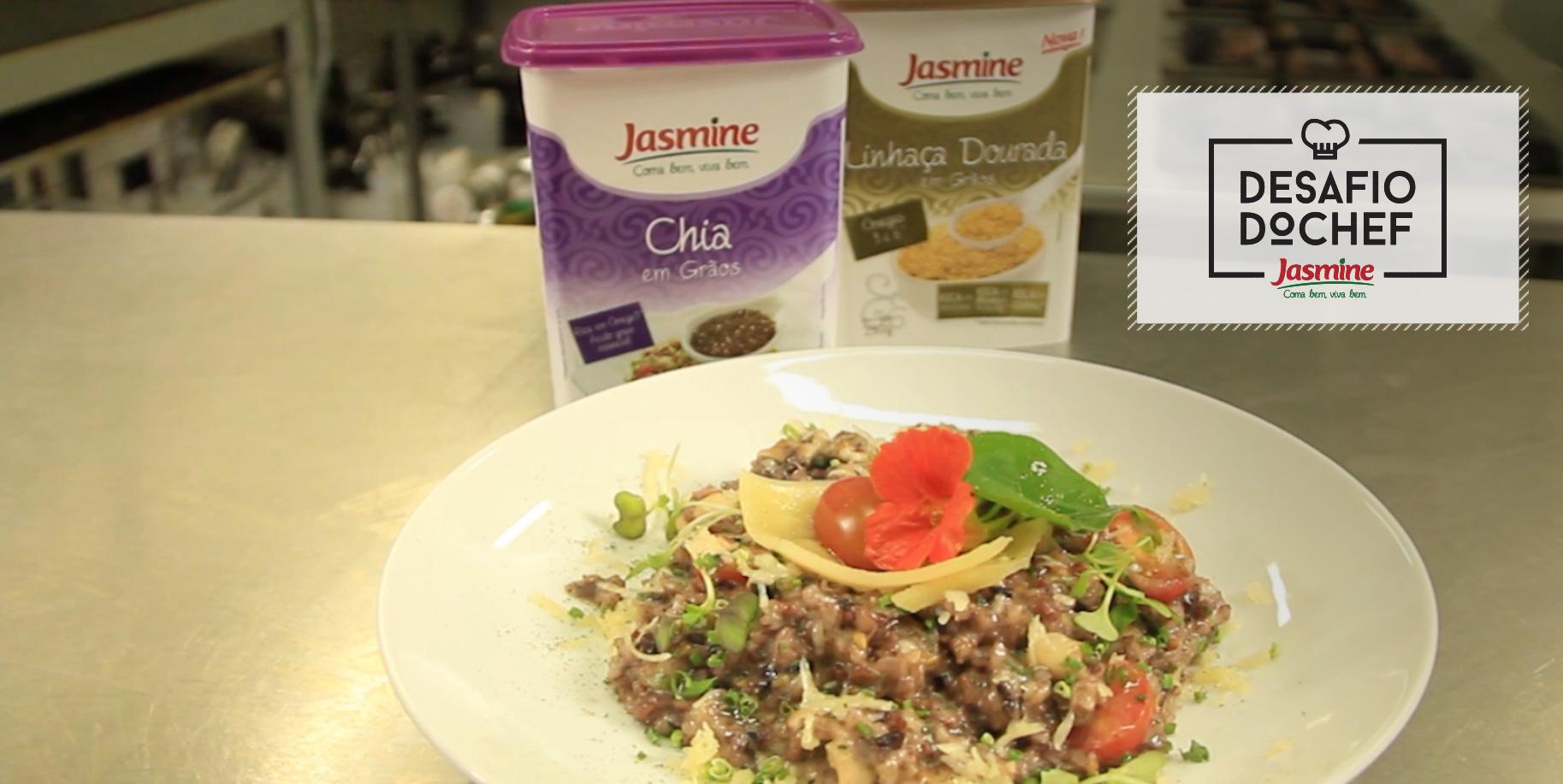 Desafio do Chef Jasmine com Vania Krekniski