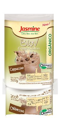 Biov em pó Arroz+Ca sabor Cappuccino