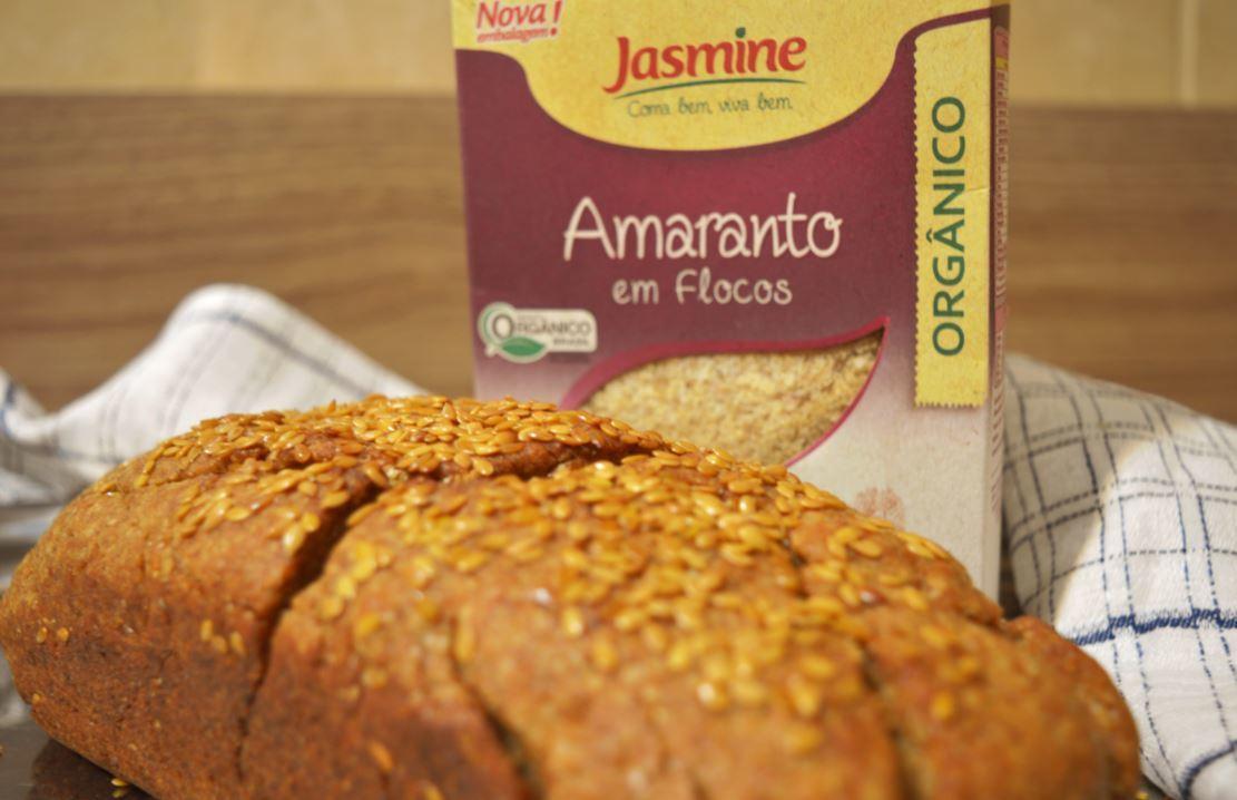 Receita de Pão Enriquecido com Amaranto
