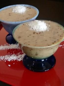 Receita de Canjica de Quinoa Mista com Amendoim