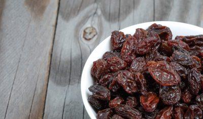 beneficios da uva passa