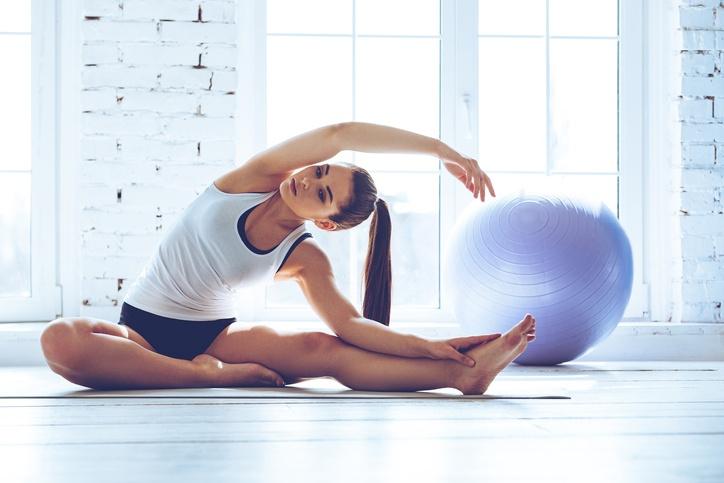 O pilates fortalece todo o conjunto de musculaturas, das superficiais às mais profundas
