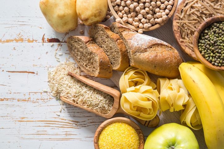 Alimentação rica em grãos