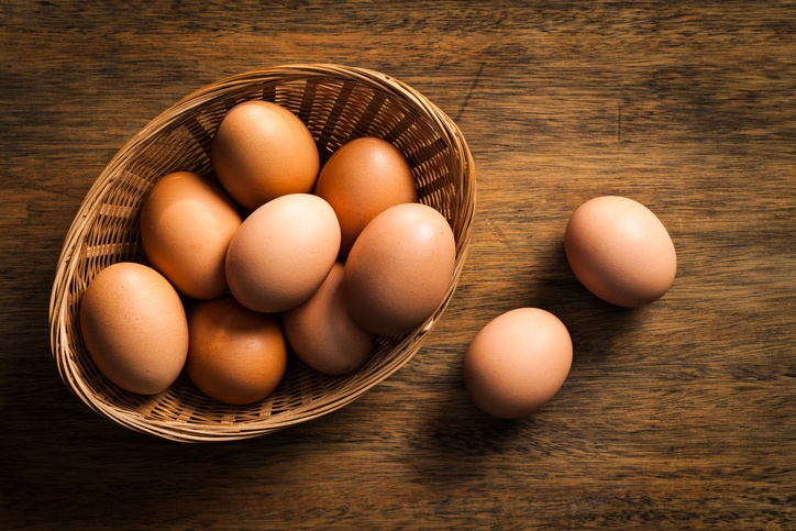 O ovo, por muito tempo considerado vilão da dieta, é um aliado da saúde da pele (foto: istock)