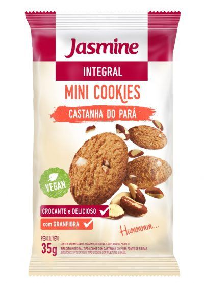 Mini Cookies Integral Castanha