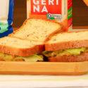 sanduiche grao de bico