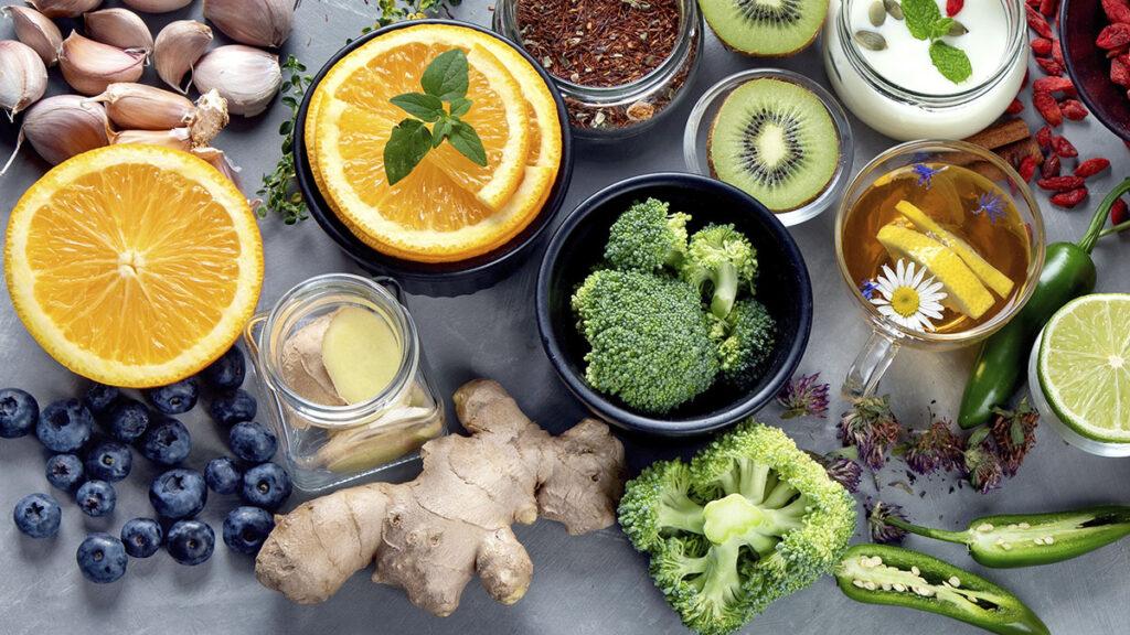 O que comer para aumentar a imunidade