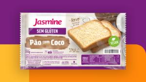 Pão Sem Glúten com Coco