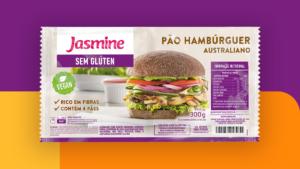 Jasmine - Pão de Hambúrguer Australiano