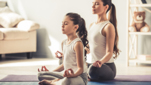 meditação com criança